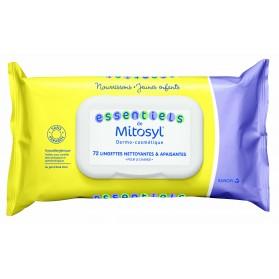 Essentiels de Mitosyl lingettes nettoyantes apaisantes pour le change Lot de 2