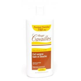 Rogé Cavaillès Gel Surgras Bain et Douche Parfum Fleur de coton 750ml
