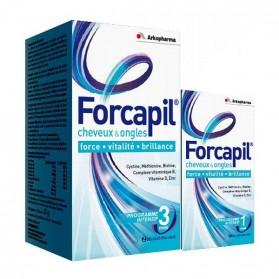 Forcapil complément alimentaire 180 + 60 gélules (Arkopharma)