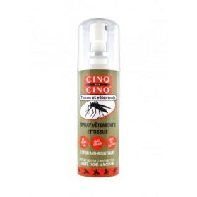 Cinq sur Cinq Spray Vêtements et Tissus Lotion Anti-Moustiques 100 ml