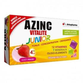Arkopharma azinc vitalité junior gout fraise 30 capsules