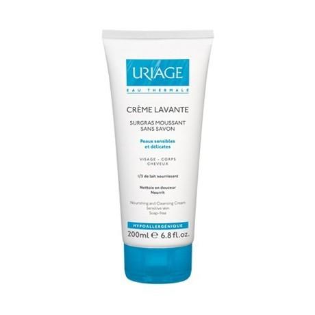 Uriage Crème Lavante surgras moussant sans savon 200ml