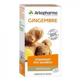 Arkopharma Arkogelules Gingembre 40 gélules