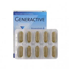 Generactive Resveratrol + Pileje 30 gélules