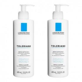 La Roche Posay tolériane dermo-nettoyant lot de 2x400ml