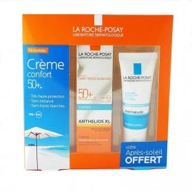 Anthelios coffret SPF 50+ crème fondante sans parfum 50ml + eau thermale 50ml