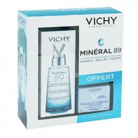 Vichy coffret mineral 89 50ml + aqualia légère 15ml OFFERT