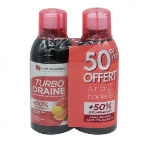 Forté Pharma turbo draine agrumes 2x500ml
