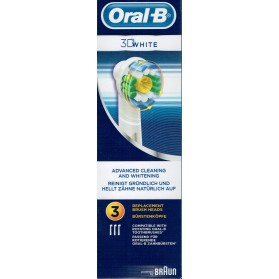 Oral B brossette 3D white x 3