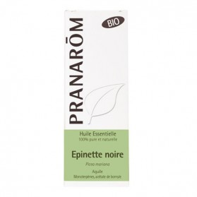 Pranarom huile essentielle bio épinette noire 10ml