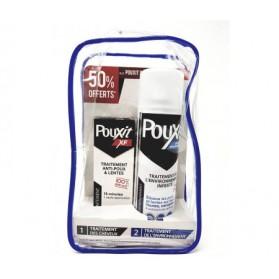 Pouxit XF Trousse Lotion 100ml + Spray Environnement -50% offert 250ml