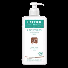 CATTIER - Lait corps adoucissant coco-vanille, 500 ml