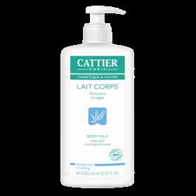 CATTIER - Lait modelant corps aloe vera-onagre, 500 ml