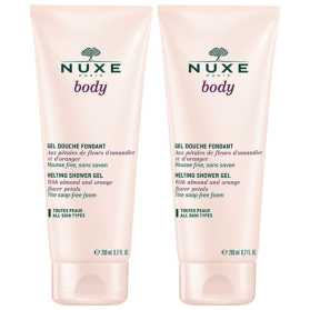 NUXE - Body - Gel Douche Fondant, 2x200ml