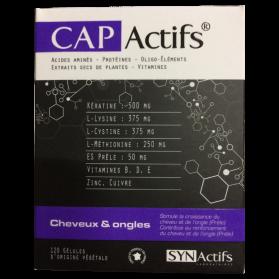 LABORATOIRES SYNACTIFS - Cap actifs cheveux & ongles, 120 gélules