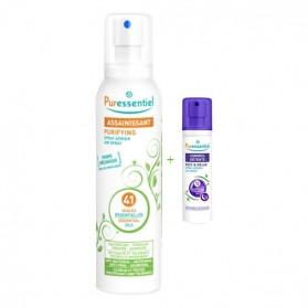 Puressentiel spray assainissant 41 huiles essentielles 200ml + spray sommeil 20 ml