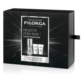 FILORGA - COFFRET - SUPER SMOOTHER - Time-Zéro, 30ml + Time-Filler, 30ml + Time-Flash, 30ml