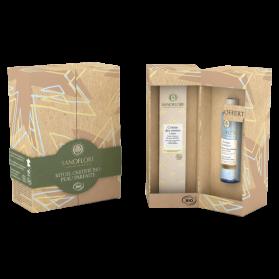 SANOFLORE - COFFRET NOËL - REINES - Crème des Reines Légère, 40ml + Mini Eau Micellaire Aciana Botanica, 50ml Offerte
