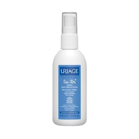 Uriage Bébé CU-ZN+ Spray Anti-Irritations 100ml