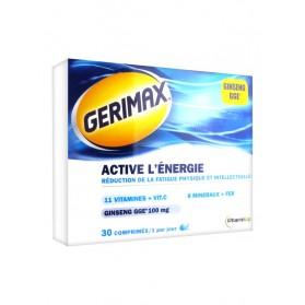 Gerimax Active l'Énergie 30 Comprimés