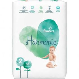 PAMPERS HARMONIE couche T2 jumbo paquet/56