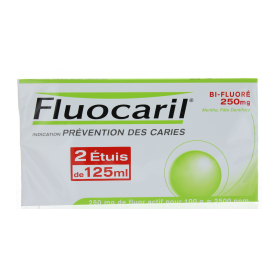 FLUOCARIL PATE BI-FLUORE 250MG LOT 2X125ML