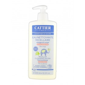 Cattier Bébé Eau Nettoyante Micellaire Hypoallergénique 500 ml