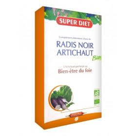 Super Diet Radis Noir - Artichaut Bio 20 Ampoules