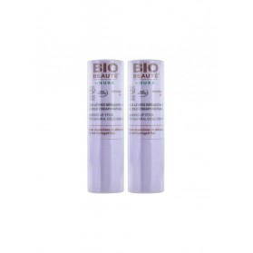 Bio Beauté Stick Lèvres Réparateur au Cold Cream Naturel Lot de 2 x 4 g