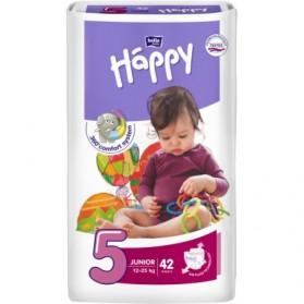 HAPPY Couche bébé T5 12-25kg paquet de 42