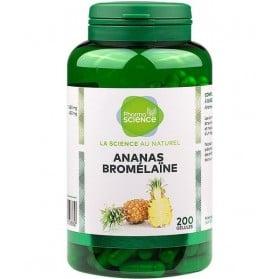 PHARMASCIENCE Ananas & Bromélaïne Digestion - 200 gélules