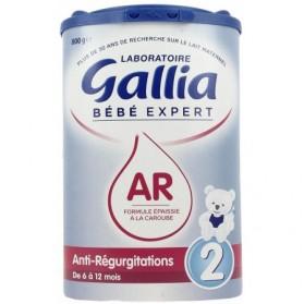 GALLIA Lait Bébé Expert AR 2ème âge - 800 g