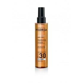 Filorga UV-Bronze Corps Huile Solaire Anti-Âge Activatrice de Bronzage SPF 30 150 ml