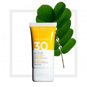 CLARINS Crème Solaire Toucher Sec Visage UVA/UVB 30 50ml