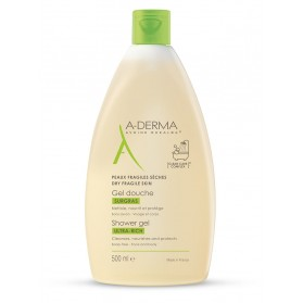 Aderma Gel Douche Surgras 500 ml