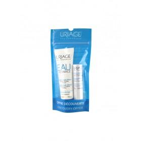 Uriage Crème d'Eau Mains 30 ml + Uriage Stick Lèvres Hydratant 4 g