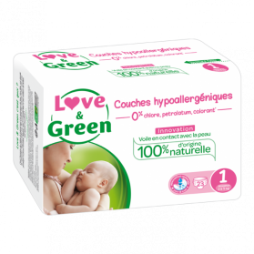 LOVE AND GREEN COUCHES T1, 2 à 5kg X 23