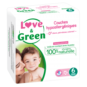 LOVE AND GREEN COUCHES T6, +15kg X 34