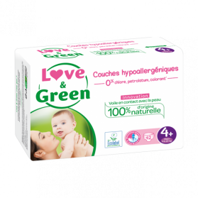 LOVE AND GREEN COUCHES T4+, 9 à 20kg X 42