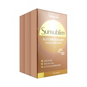 SUNSUBLIM Caps autobronz ultra 3B/28