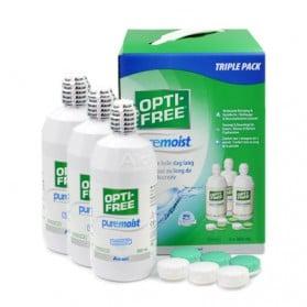 OPTI FREE PUREMOIST PACK DE 3