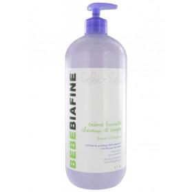 BébéBiafine Crème Lavante Cheveux et Corps 1 L