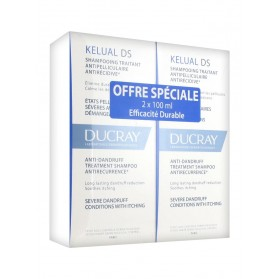 DUCRAY KELUAL DS DUO 2X100ML