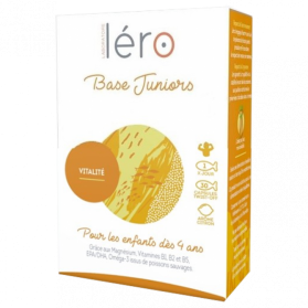 LERO BASE FATIGUE JUNIOR BTE/42CAPS
