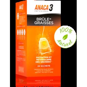 ANACA3 INFUSION BRULE GRAISSES boite de 24 Sachets
