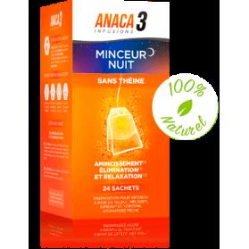 ANACA3 INFUSION MINCEUR NUIT boite de 24 Sachets