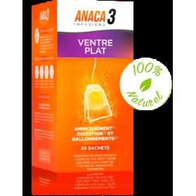 ANACA3 INFUSION VENTRE PLAT boite de 24 Sachets