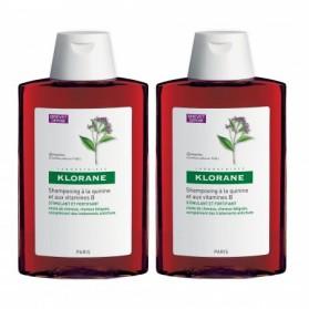 Shampoing à la Quinine et aux vitamines B - Lot de 2 x 400 ml