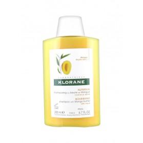 Klorane Shampoing Traitant Nutritif au Beurre de Mangue 200 ml