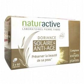 Naturactive Doriance Solaire & Anti-Âge Lot de 2 x 60 Capsules
